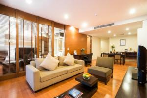 4 star hotel at Ratchada for rent, monthly rental for one bed room 80 sqm full service, rare price